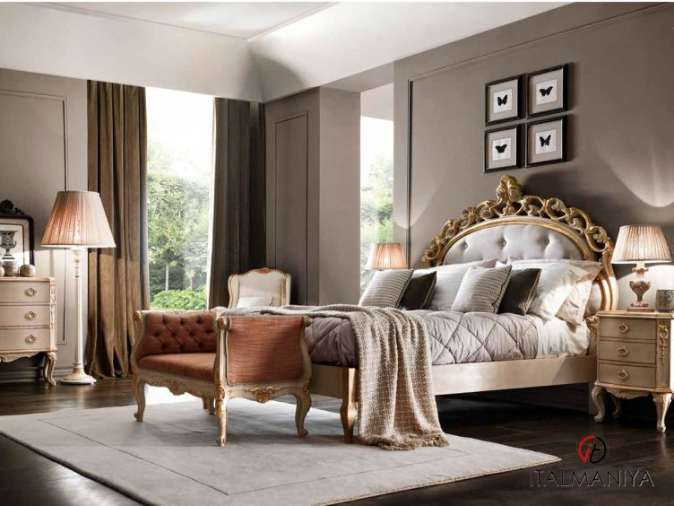 Фото 1 - Спальня Camera da letto 3 фабрики Vittorio Grifoni (производство Италия) в классическом стиле из массива дерева