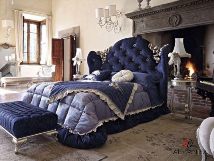 Фото 1 - Спальня Mafalda 50 фабрики Volpi (производство Италия) в классическом стиле из массива дерева