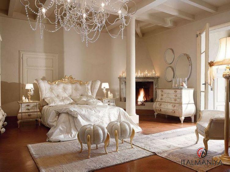 Фото 1 - Спальня Matilde 46 фабрики Volpi (производство Италия) в классическом стиле из массива дерева