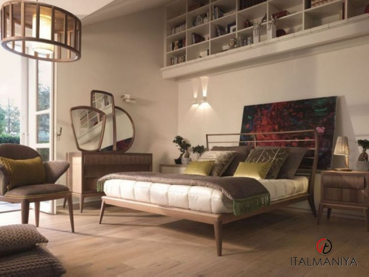 Фото 1 - Спальня Ribot фабрики Volpi (производство Италия) в современном стиле из массива дерева