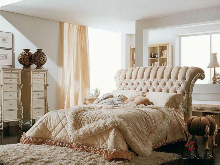 Фото 1 - Спальня Sofia 27 фабрики Volpi (производство Италия) в стиле арт-деко из массива дерева