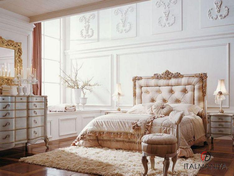 Фото 1 - Спальня Teodoro 29 фабрики Volpi (производство Италия) в классическом стиле из массива дерева