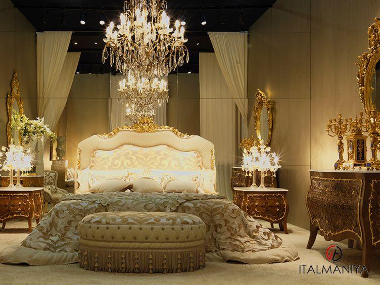 Фото 1 - Спальня Caravaggio фабрики Zanaboni (производство Италия) в современном стиле из массива дерева