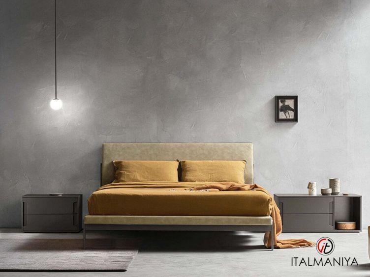 Фото 1 - Спальня Mercuru фабрики Zanette (производство Италия) в современном стиле из МДФ