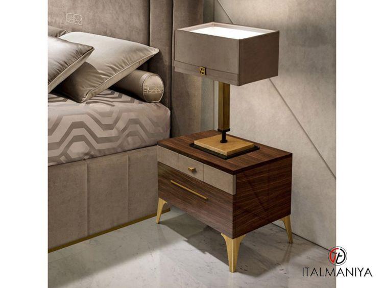 Фото 1 - Тумба прикроватная Richmond фабрики Barnini Oseo (производство Италия) в современном стиле из массива дерева