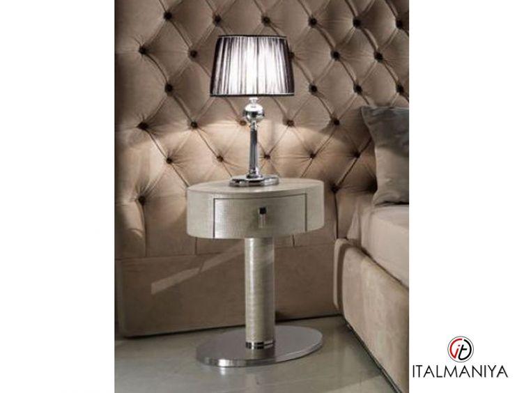 Фото 1 - Тумба прикроватная Adler фабрики DV Home (производство Италия) в современном стиле из массива дерева
