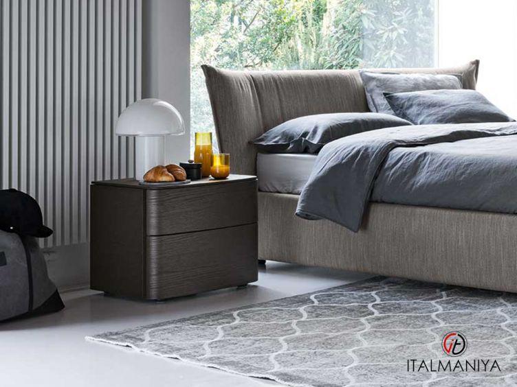 Фото 1 - Тумба прикроватная Olis фабрики Alf (производство Италия) в современном стиле из массива дерева
