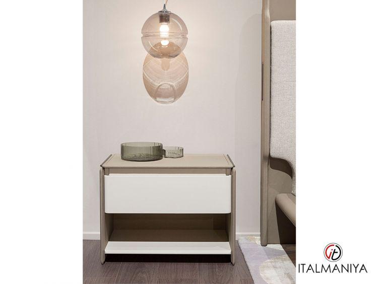 Фото 1 - Тумба прикроватная Zero фабрики Turri (производство Италия) в современном стиле из массива дерева