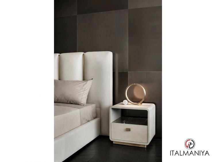 Фото 1 - Тумба прикроватная Club фабрики Rugiano (производство Италия) в современном стиле из металла