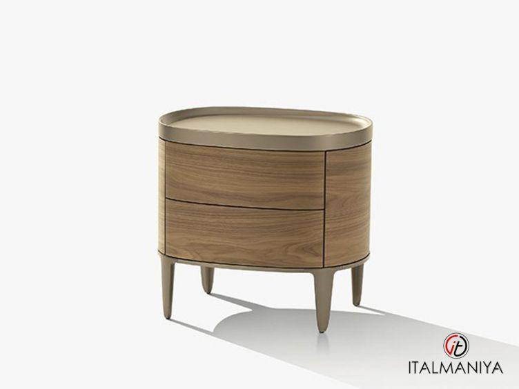 Фото 1 - Тумба прикроватная Gentleman фабрики Poliform (производство Италия) в современном стиле из массива дерева