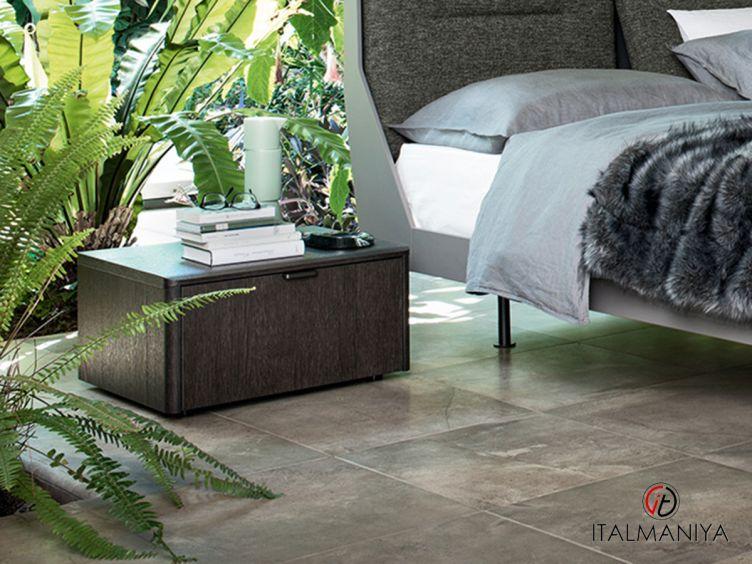 Фото 1 - Тумба прикроватная Timeless фабрики Alf (производство Италия) в современном стиле из массива дерева