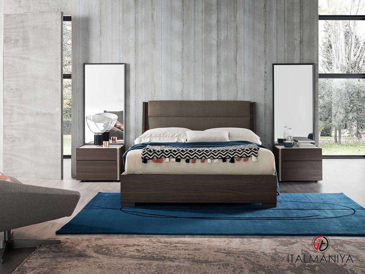 Фото 2 - Спальня DaDo-Dice bruno oak surfaced фабрики Alf