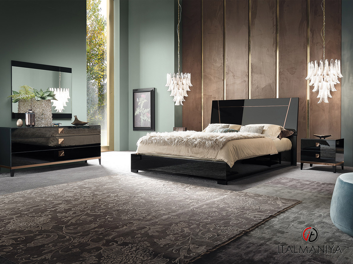 Фото 1 - Спальня Mont Noir фабрики Alf