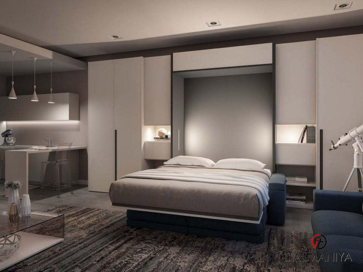 Фото 1 - Спальня с подъемной кроватью 257 фабрики Tumidei
