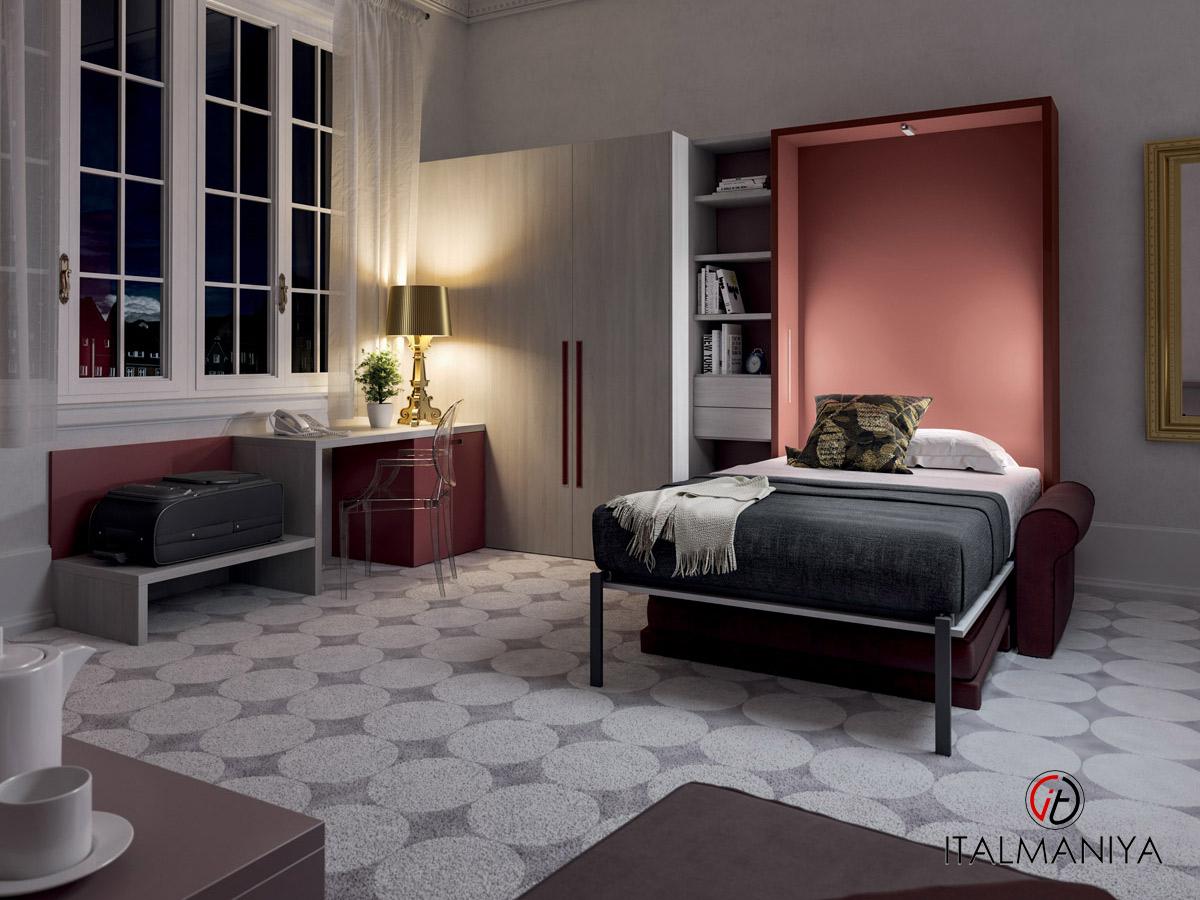 Фото 1 - Спальня с подъемной кроватью 274 фабрики Tumidei