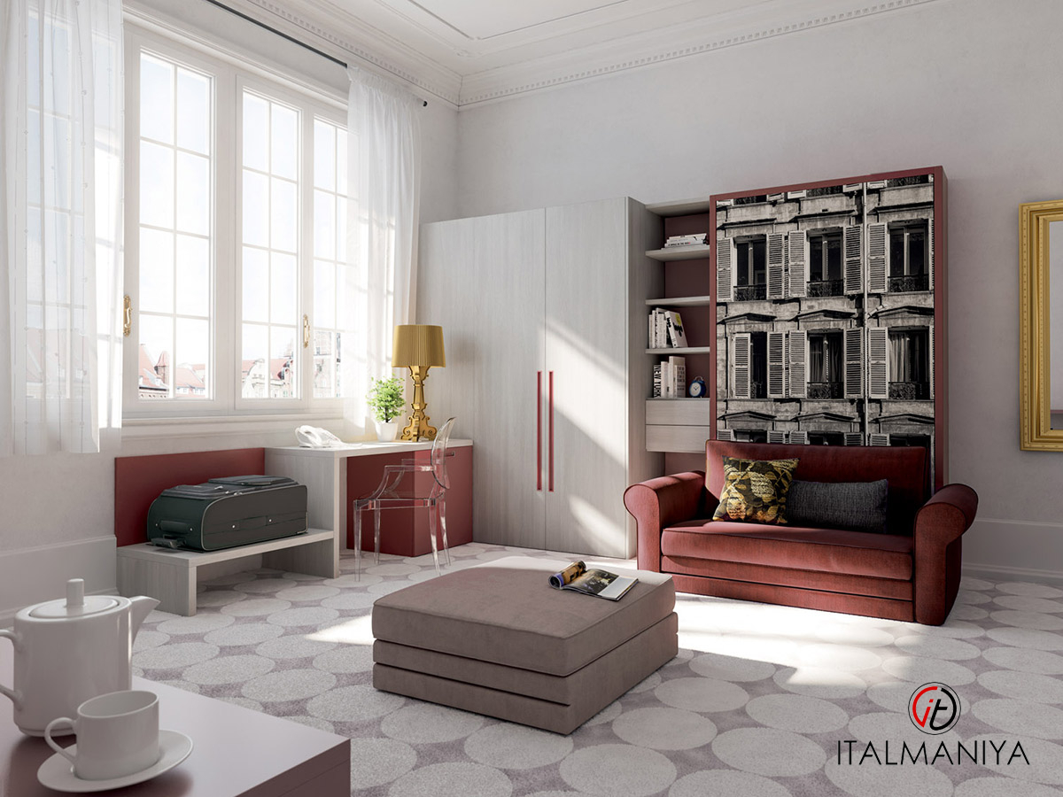 Фото 2 - Спальня с подъемной кроватью 274 фабрики Tumidei