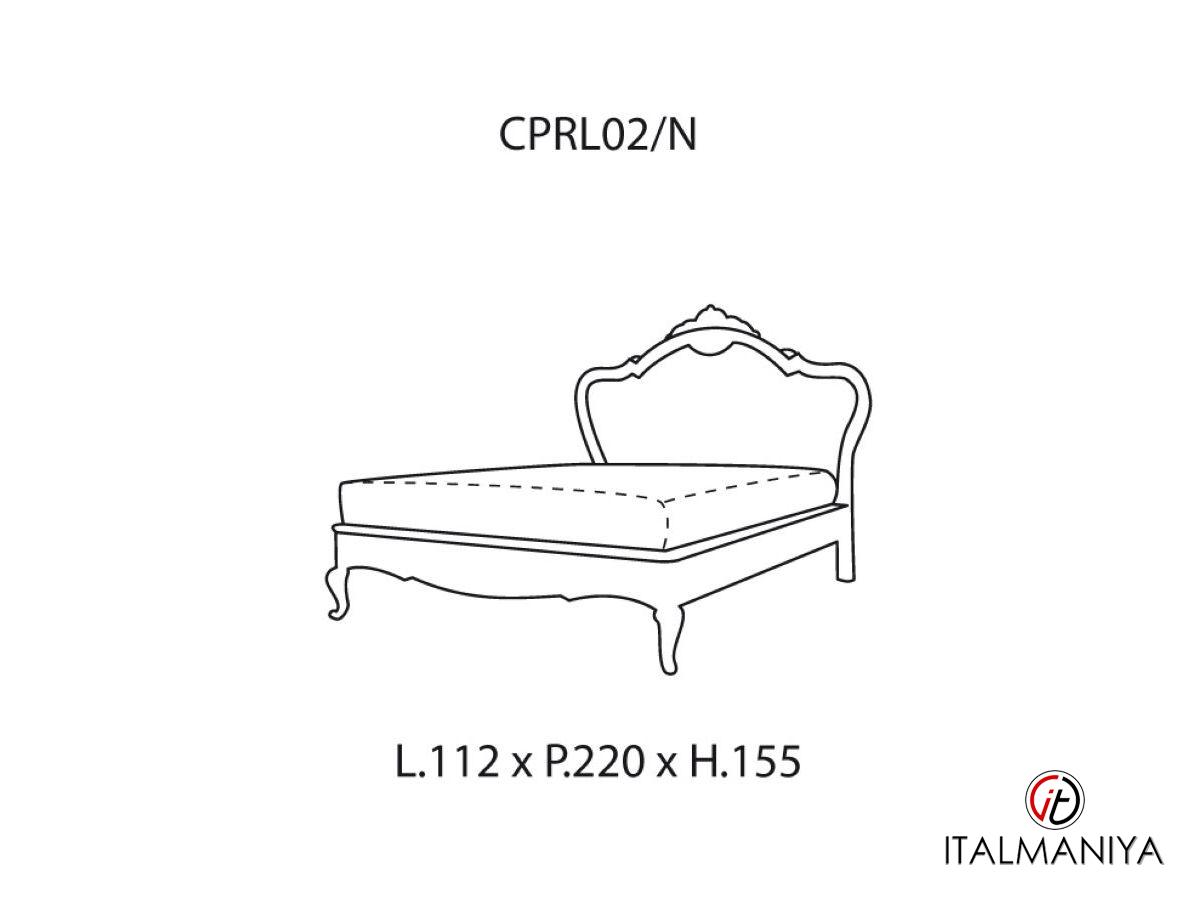 Фото 4 - Спальня Casa Principe фабрики Valderamobili