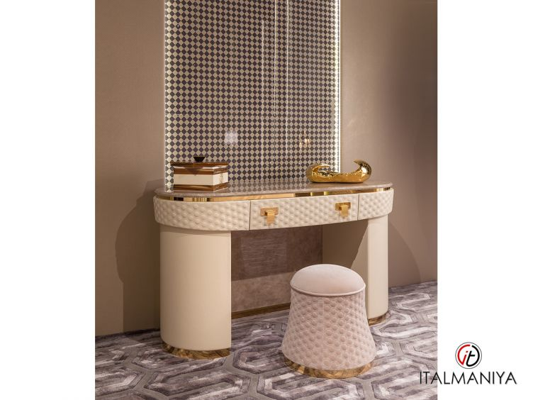 Фото 1 - Туалетный столик Vogue фабрики Turri (производство Италия) в современном стиле из массива дерева