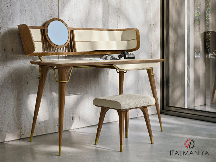 Фото 1 - Туалетный столик Melting Light фабрики Turri (производство Италия) в современном стиле из массива дерева