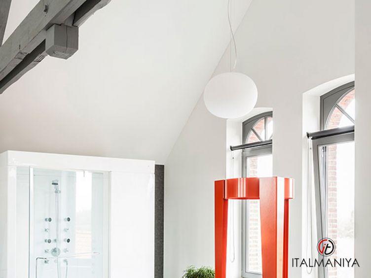 Фото 1 - Люстра Glo-Ball фабрики Flos (производство Италия) в современном стиле из металла