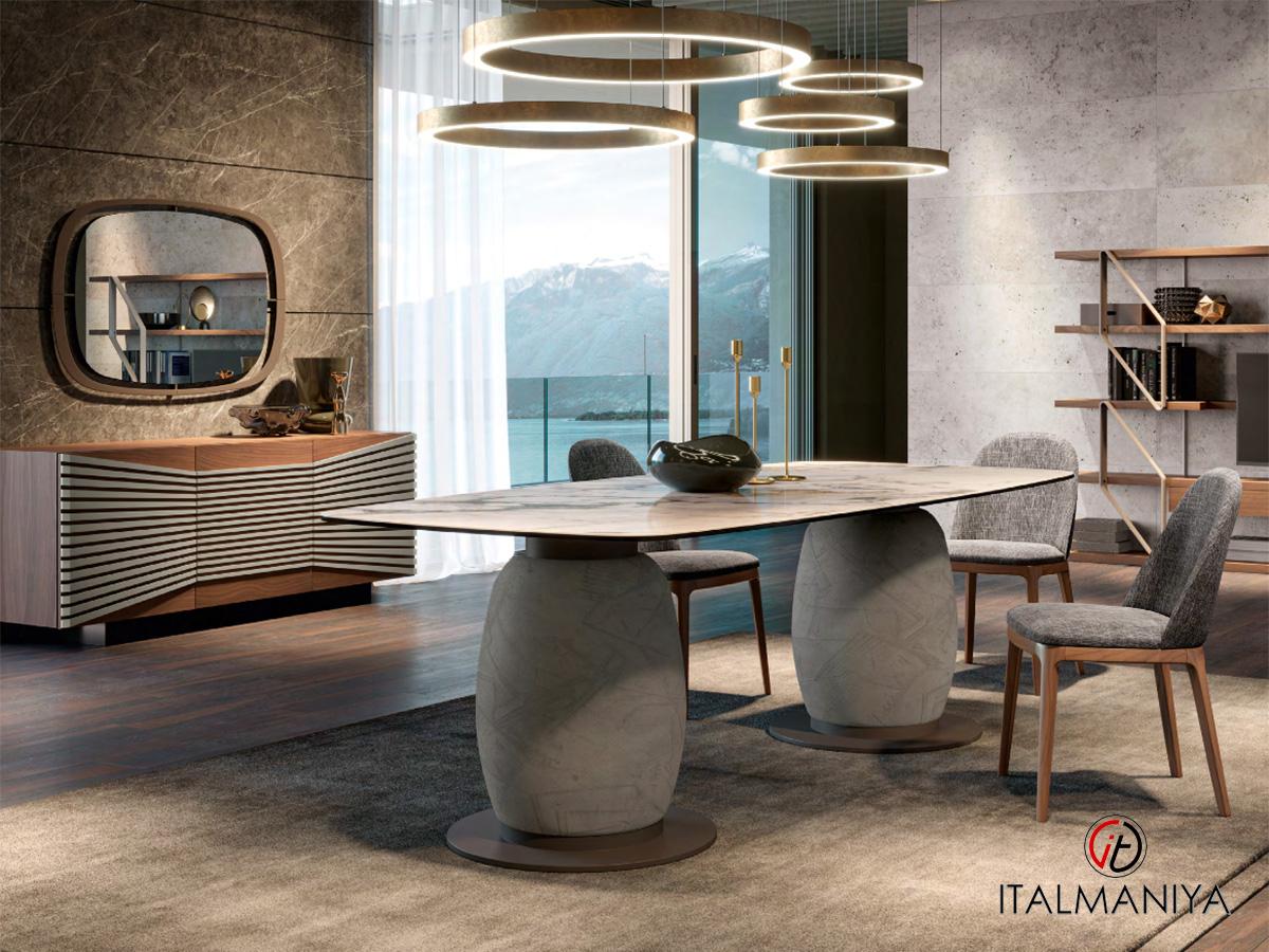 Фото 1 - Стол обеденный Giara фабрики Giorgiocasa из новой коллекции Attico 2021 года