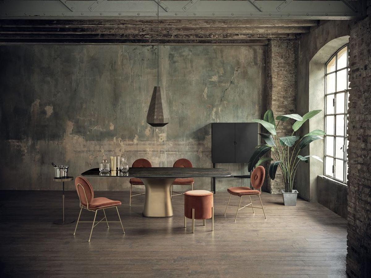 Фото 3 - Итальянская люстра Pandora фабрики Bontempi Casa в отделке античная латунь в интерьере