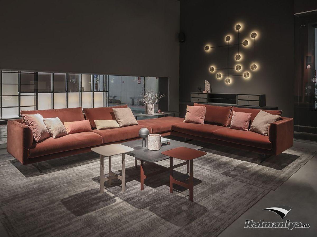 Фото 2 - Гостиная Fusello/Shift/Malmo фабрики Alf из каталога 2020-го года «The Italian Home 2020»